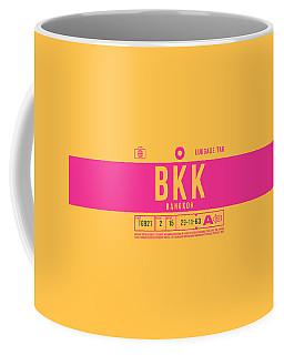 Retro Airline Luggage Tag 2.0 - Bkk Bangkok Thailand Coffee Mug