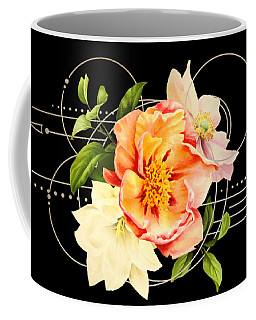 Floral Abstraction Coffee Mug