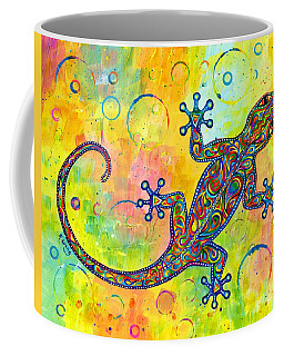 Electric Gecko Coffee Mug