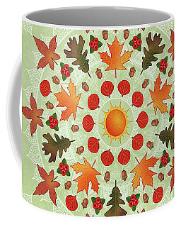 Autumn Mandala Coffee Mug
