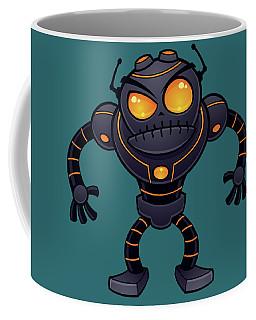 Angry Robot Coffee Mug