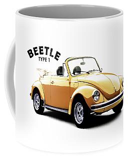 Vw Beetle 1972 Coffee Mug