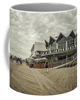 Asbury Park Boardwalk Looking South Coffee Mug