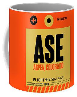 Ase Aspen Luggage Tag I Coffee Mug