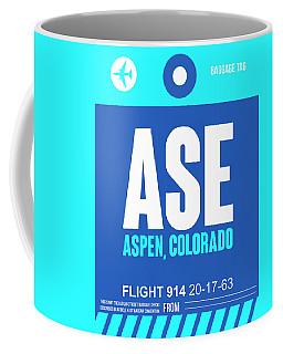 Ase Aspen Luggage Tag II Coffee Mug