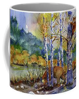 Aspen Bears At Emmigrant Gap Coffee Mug