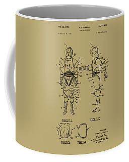 Astronaut Space Suit Patent 1968 - Vintage Coffee Mug