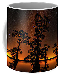 Coffee Mug featuring the photograph Atchafalaya Basin On Fire by Andy Crawford