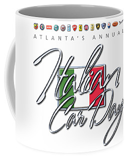Atlanta's Annual Italian Car Day Logo Coffee Mug