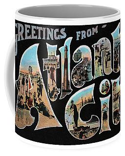 Atlantic City Greetings #1 Coffee Mug