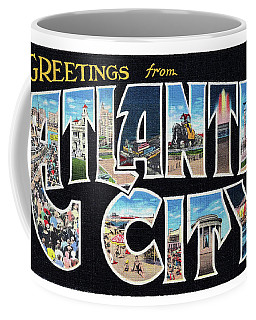 Atlantic City Greetings #2 Coffee Mug