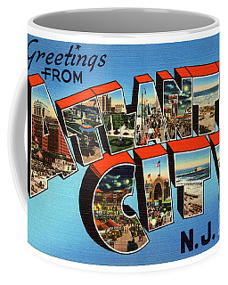 Atlantic City Greetings #3 Coffee Mug