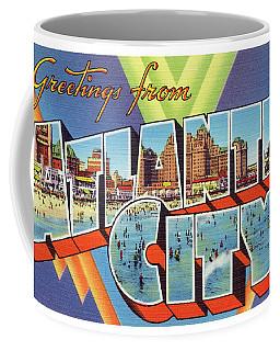 Atlantic City Greetings #4 Coffee Mug