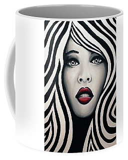 Coffee Mug featuring the painting Atmosphere by Blake Emory