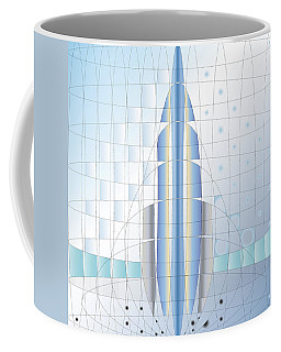 Atomic Rocket Coffee Mug