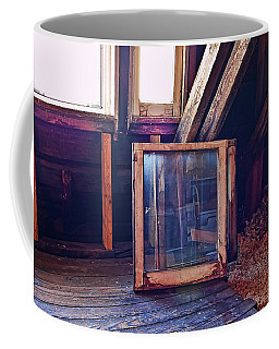 Coffee Mug featuring the photograph Attic #1 by Mark Jordan