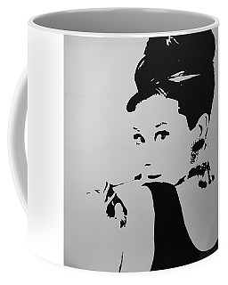 Audrey B W Coffee Mug