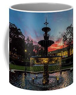 Augusta University Fountain Sunset Ga Coffee Mug
