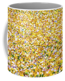 Autumn Abstract  Coffee Mug