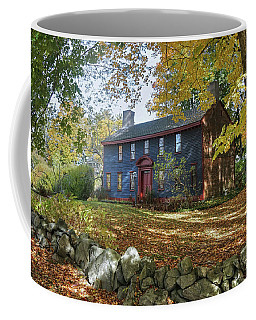 Autumn At Short House Coffee Mug