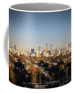 Autumn At The City Coffee Mug