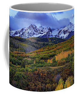 Autumn At The Dallas Divide Coffee Mug