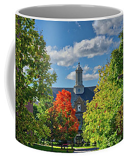 Coffee Mug featuring the photograph Autumn Beauty At Cornell University - Ithaca, New York by Lynn Bauer