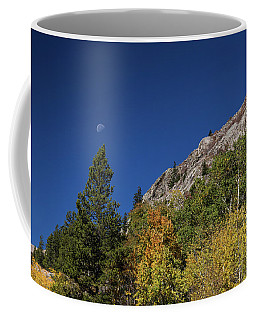 Coffee Mug featuring the photograph Autumn Bella Luna by James BO Insogna