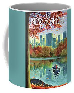 Autumn Central Park Coffee Mug