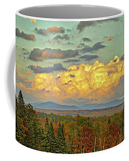 Autumn Clouds Over Maine Coffee Mug