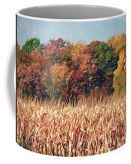 Autumn Cornfield Coffee Mug