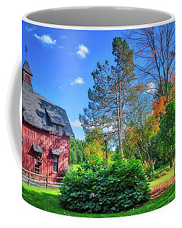 Coffee Mug featuring the photograph Autumn Days On Campus At Cornell University - Ithaca, New York by Lynn Bauer