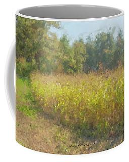 Autumn Field In Sunlight Coffee Mug