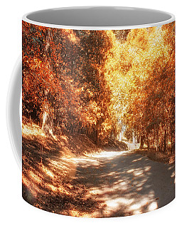 Coffee Mug featuring the photograph Autumn Forest by Alison Frank