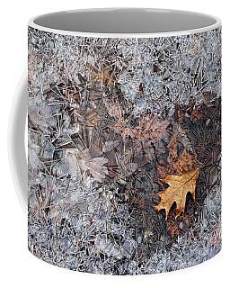 Autumn Freezing Over Coffee Mug