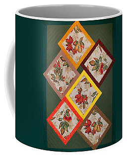 Autumn Fruit And Leaves Coffee Mug