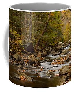 Autumn In Ken Lockwood Gorge Coffee Mug