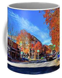 Coffee Mug featuring the photograph Autumn In Pullman by David Patterson