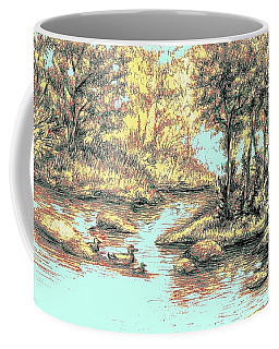 Autumn Is Here Coffee Mug