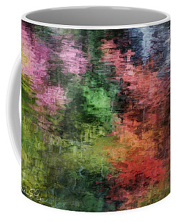 Autumn Lake Reflections Coffee Mug