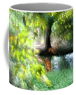 Autumn Leaves In The Morning Light Coffee Mug