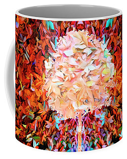 Coffee Mug featuring the photograph Autumn Leaves by Mike Braun