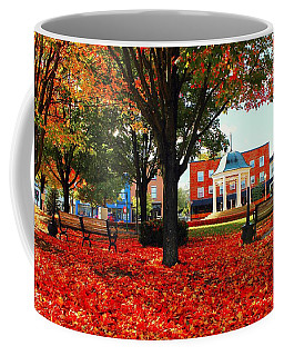 Autumn Main Street Coffee Mug