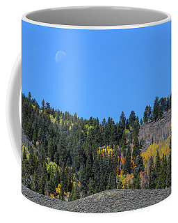 Coffee Mug featuring the photograph Autumn Moon by James BO Insogna