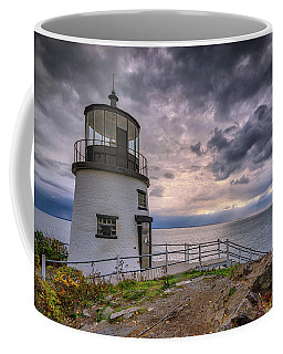 Coffee Mug featuring the photograph Autumn Morning At Owls Head by Rick Berk