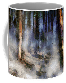 Autumn Morning Fog Coffee Mug