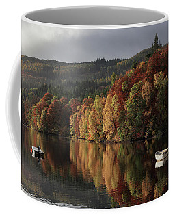 Coffee Mug featuring the photograph Autumn Morning by Grant Glendinning
