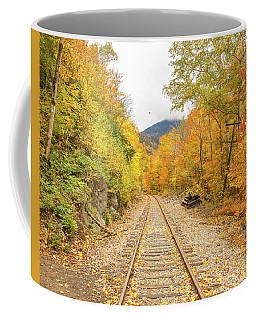 Autumn On Crawford Notch Railway Coffee Mug