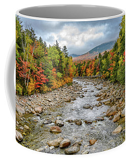 Coffee Mug featuring the photograph Autumn On The Kanc. Nh by Michael Hubley