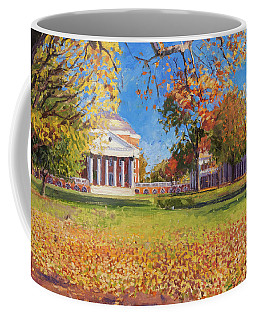 Autumn On The Lawn Coffee Mug